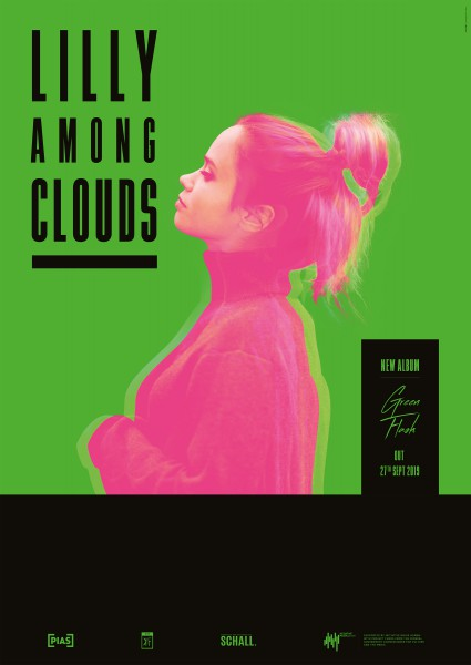 Lilly Among Clouds - Green Flash - Poster